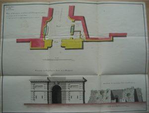 plan porte de ville